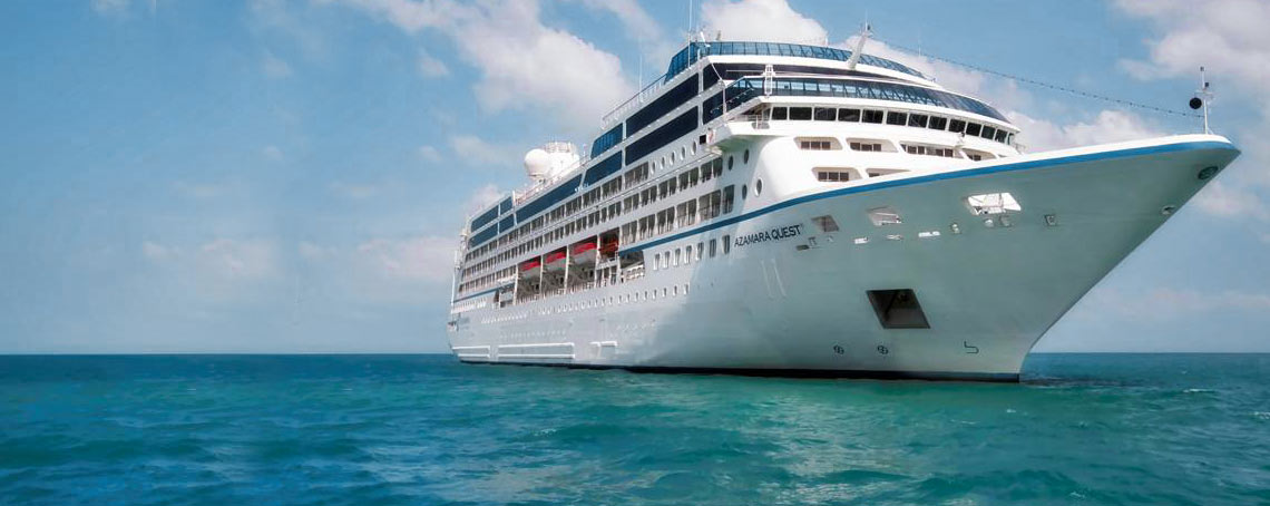 Azamara Luxury Experience on Mediterranean Sea