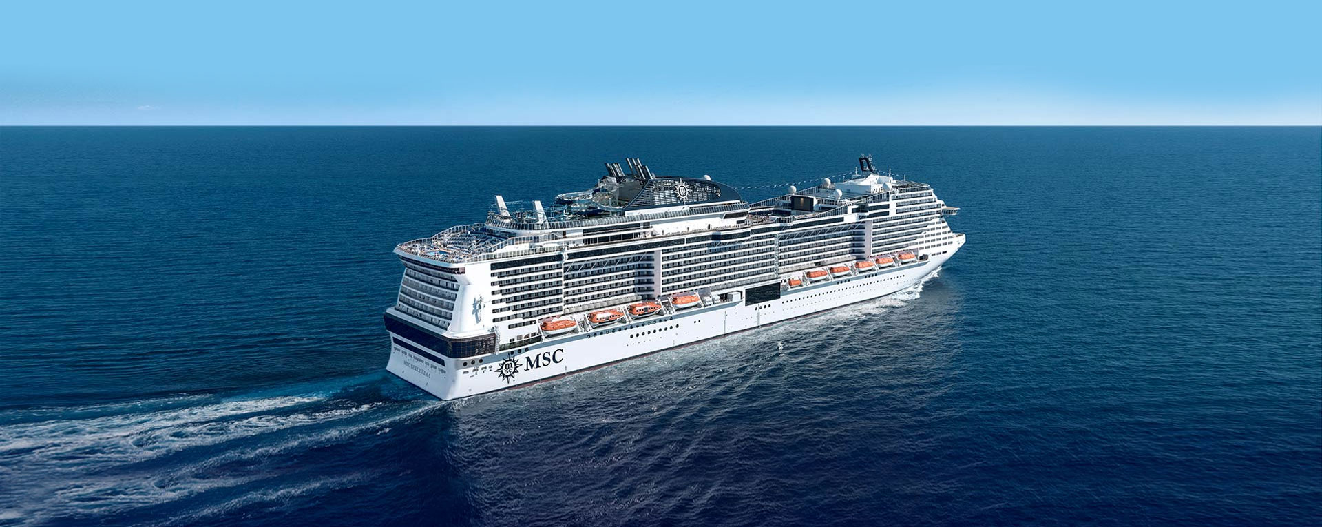 MSC Bellissima Naming Ceremony