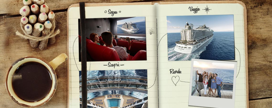 MSC Cruises Promo Beyond the Journey