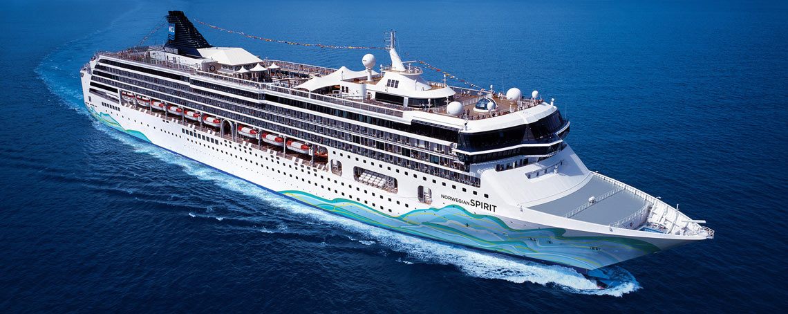 Discover the renewed Norwegian Spirit