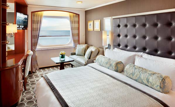 Deluxe Window Stateroom - Partially Limited View