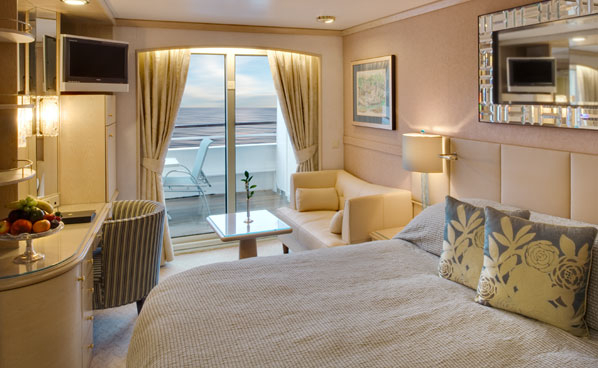 Deluxe Verandah Stateroom - Partially Limited View