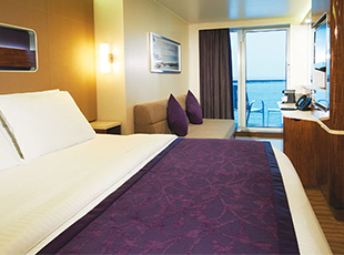 Mid Ship Mini Suite with Balcony