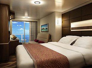 Aft-Facing Mini Suite with Balcony