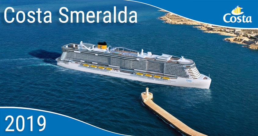 ship costa smeralda 337 00 m long can accommodate up to 6600
