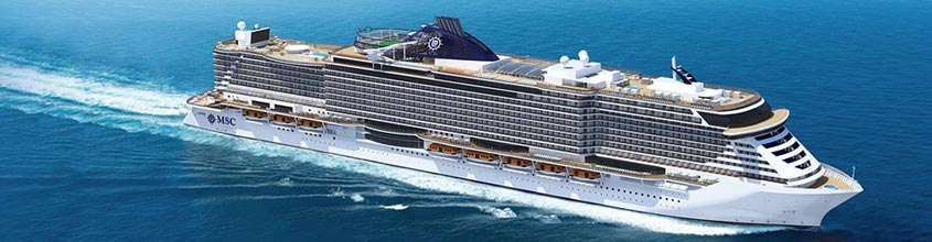 Ship MSC Seaview: 323.00 m long can accommodate up to 5179 ...
