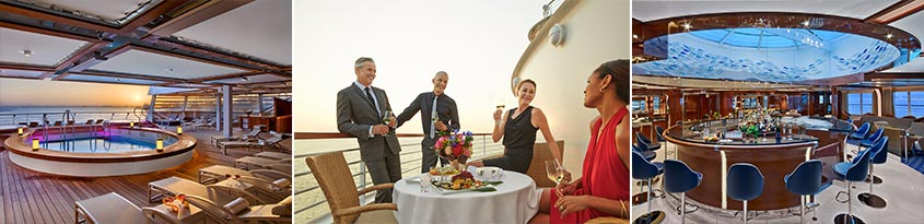 luxury cruises seabourn ovation